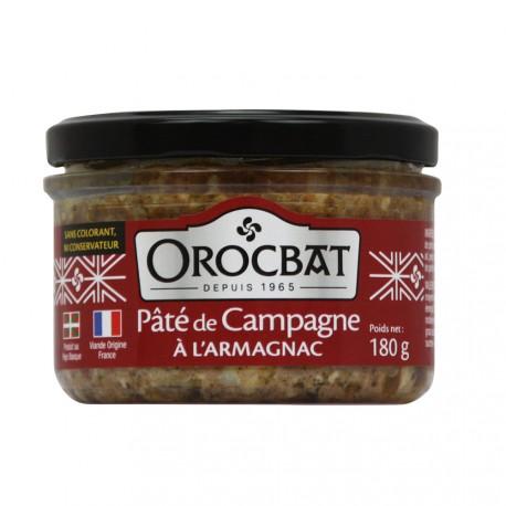 Country pâté with Armagnac