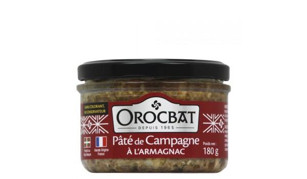 Paté de Campaña con Armagnac