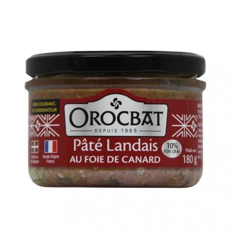Paté Landesa con Hígado de Pato (10% de foie gras)