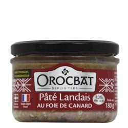 Landes Pâté with Duck Liver (10% foie gras)