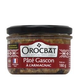 Paté Gascón con Armagnac