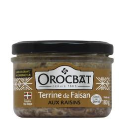 Terrine de Faisan aux Raisins