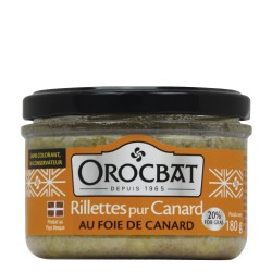 Pure Duck Rillettes with Duck Liver (20% foie g