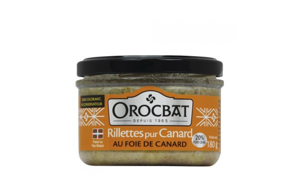 Pure Duck Rillettes with Duck Liver (20% foie gras)