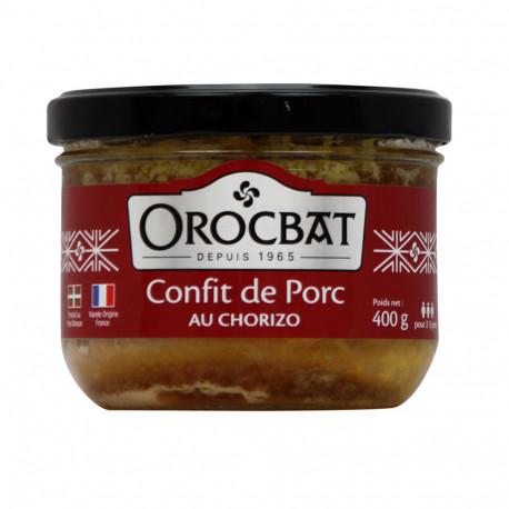Confit de Porc au Chorizo