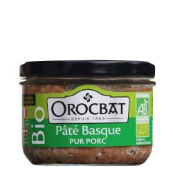 Organic Pure Pork Basque Pâté
