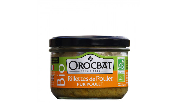 Pure Organic Chicken Rillettes