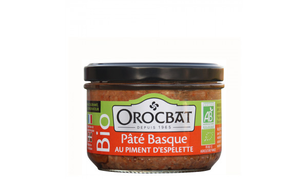 Organic Basque Pâté with Espelette Pepper