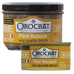 Pâté Basque aux Quatre Epices