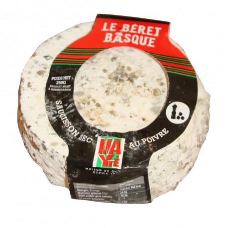 Bérêt Basque au poivre