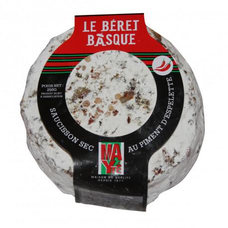 Béret Basque au Piment d'Espelette
