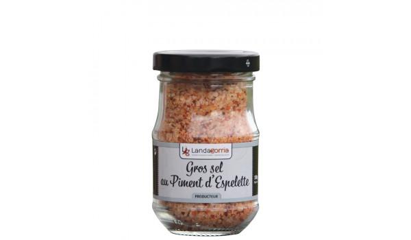 Coarse salt with Espelette pepper