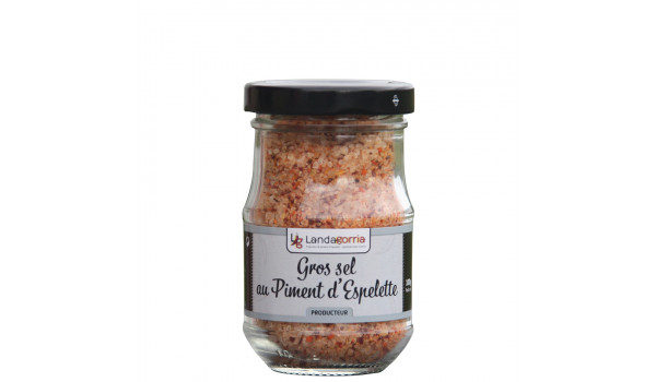 Sal gruesa con pimienta de Espelette