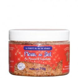 Fleur de sel de Salies au Piment d'Espelette
