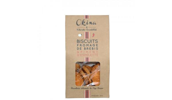 Galletas de queso de oveja y PE