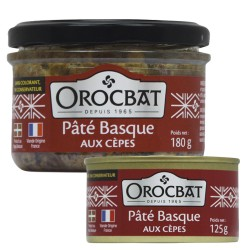 Paté Vasco con Ceps