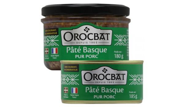Pâté Basque pur Porc