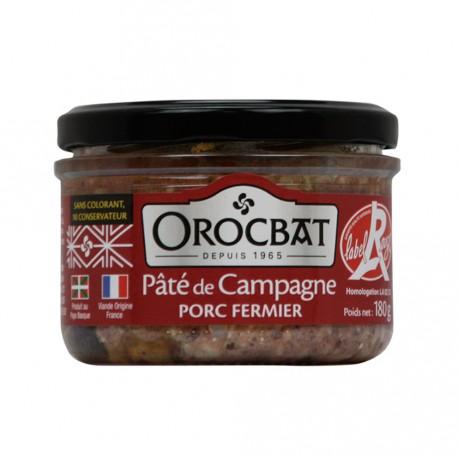Paté de Campaña Cerdo de Granja Label Rouge