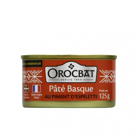 Basque Pâté with Espelette Pepper
