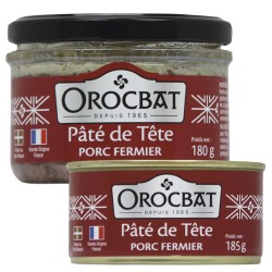 Farmhouse pork head pâté
