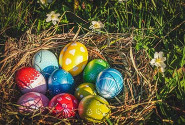 For Easter: Colourings to do at home
