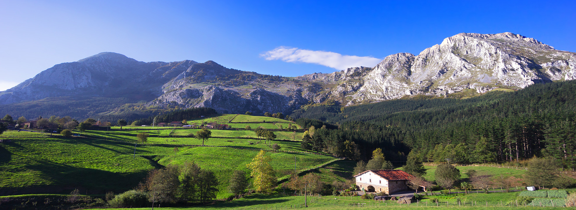 Magnificent landscapes for our Basque mountains