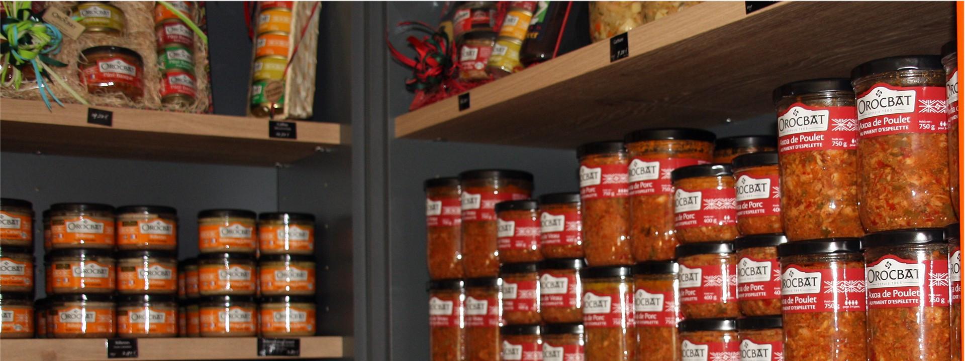 En Soule, nous vous accueillons dans notre boutique de produits artisanaux